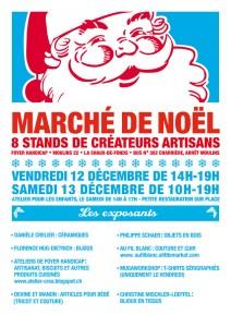 Flyer Marché de Noël 2014